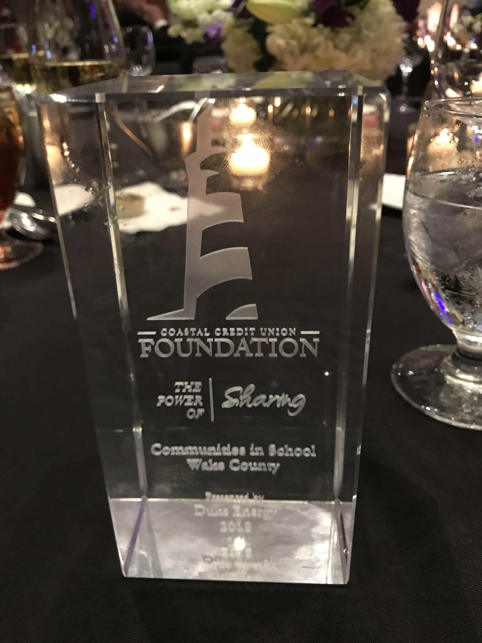 Duke Energy nominates CIS Wake for 2019 Coastal Power of Sharing Award!